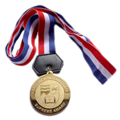 Medals - polished + sandblasted surface