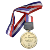 Medals - sandblasted surface